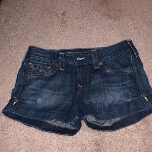 True religion jean shorts size 30